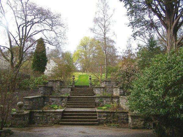 Stairs, Bodnant Garden