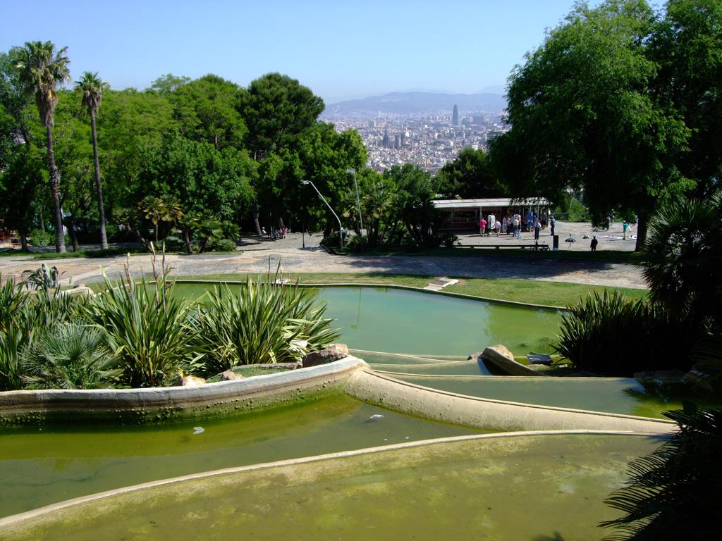 Jardins del mirador de alcalde for Hotel jardin barcelona