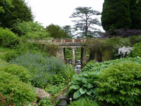 Bridge, Sezincote Garden