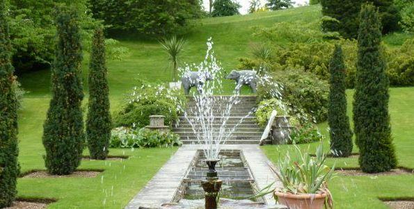 Fountain, Sezincote Garden