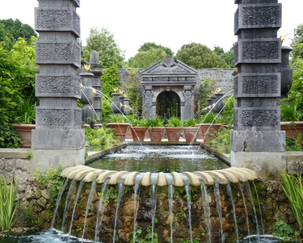 Arundel Castle Garden, West Sussex