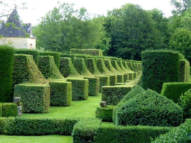 topiary jardins deyrignac - Jardin D Eyrignac
