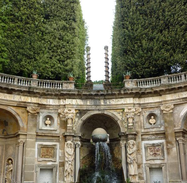 Villa Aldobrandini, Lazio