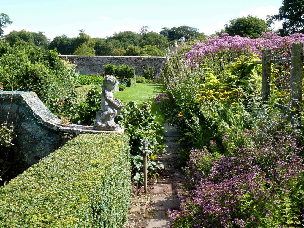 Parham House Garden, Summer