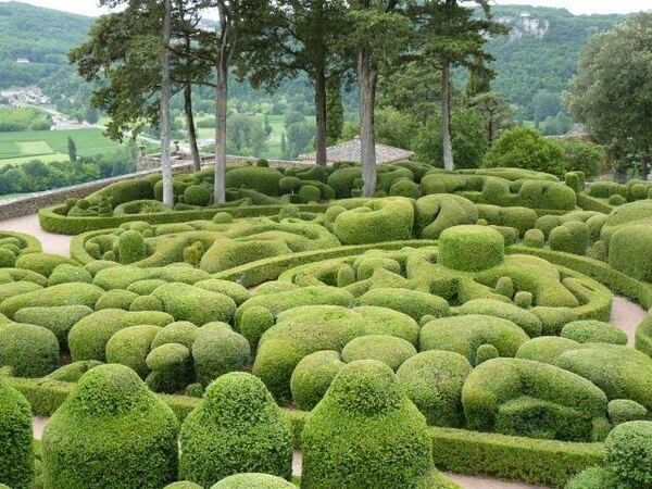 Jardins de Marqueyssac, 2011