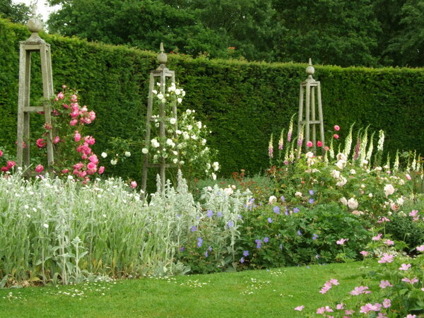 Rose Garden, Waterperry Gardens
