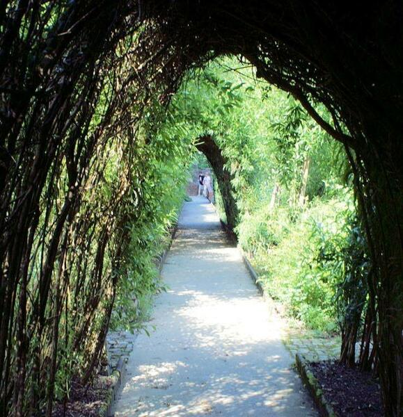 Tunnel, Jardin de Wiltz