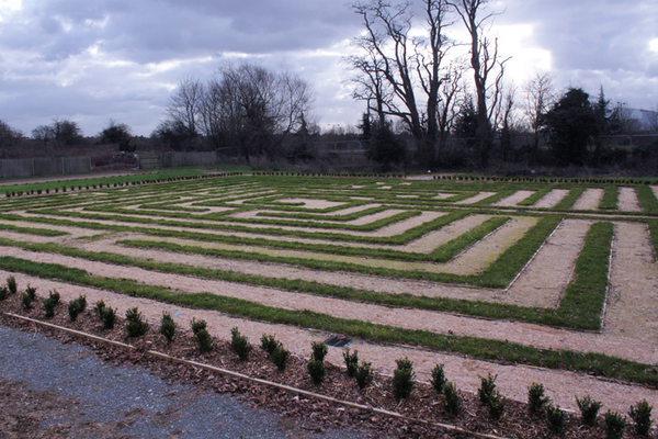 Theobalds Palace Garden Cedars Park