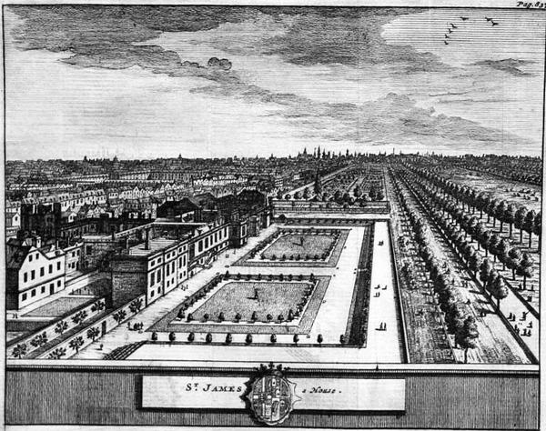 St James's Palace Garden