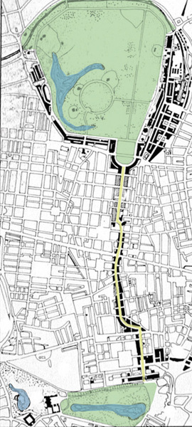 St James's to Regent's Park Processional Route