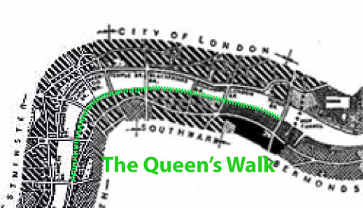 The Queen's Walk, London