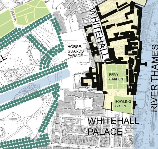 Whitehall Palace Garden