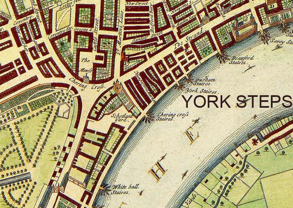 York House Watergate Steps
