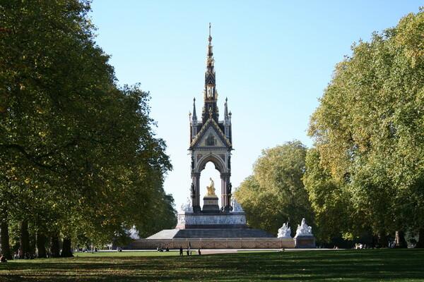 Albert Memorial in Kensington Gardens