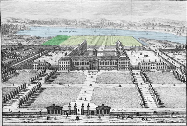 Chelsea Royal Hospital Garden