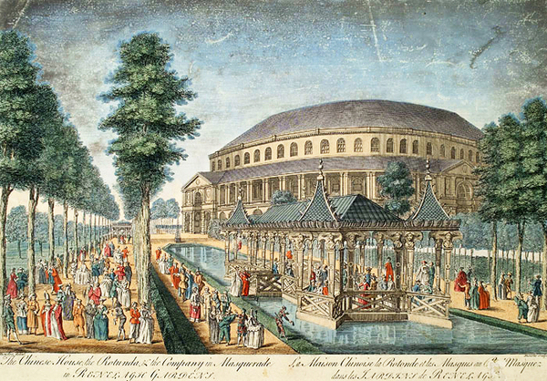 Ranelagh Gardens in the eighteenth century