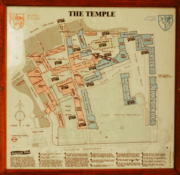 Inner Middle Temple London