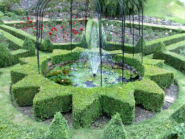 Pond, Bishop's Garden