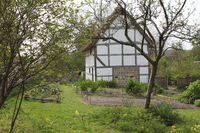 Medium weald downland museum medieval gardens original