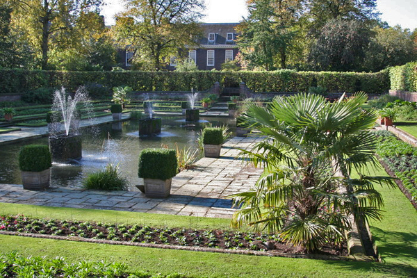 Kensington Palace Arts and Crafts Garden