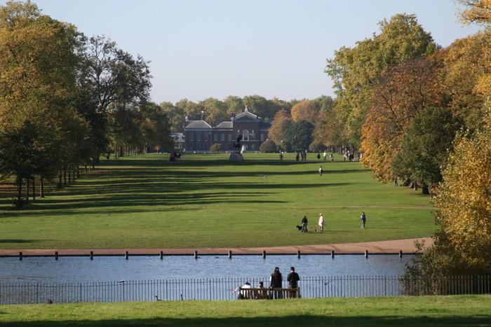 Kensington gardens park for Kensington park