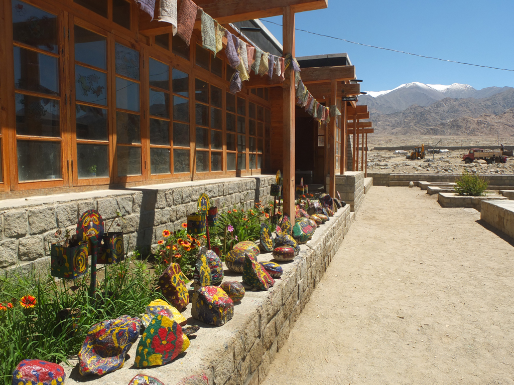 Dragon Garden Druk White Lotus School in Ladakh India