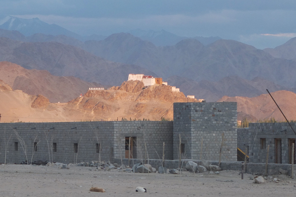 Dragon Garden Druk White Lotus School in Ladakh India Thikse Monastery