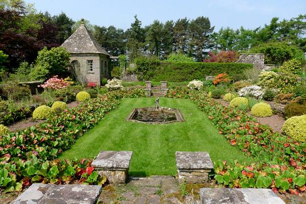 Sunken Garden, Wyndcliffe Court Gardens
