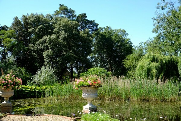 Hindringham Hall Gardens, Norfolk