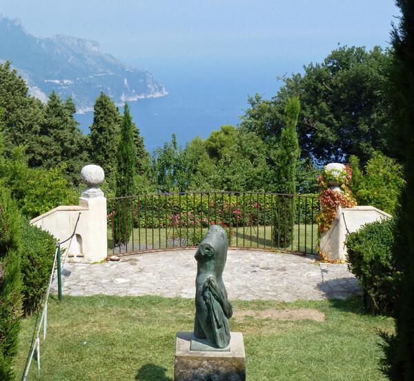 View, Villa Cimbrone