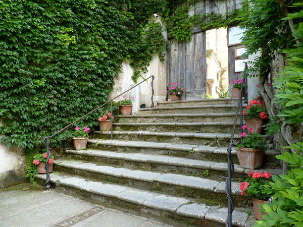 Steps, Villa Cimbrone Garden