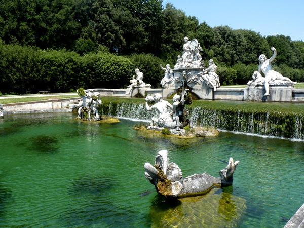 Water, Sculpture, Reggia di Caserta