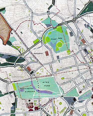 London landscape urbanism design