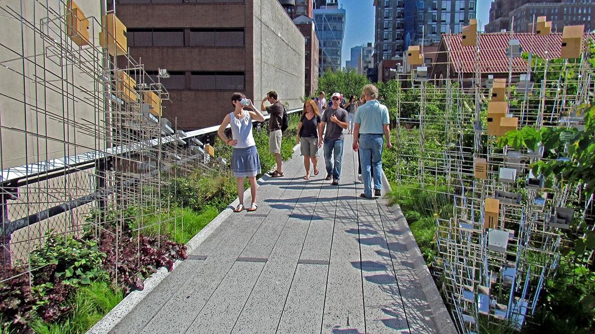 Wonderful James Corner High Line Landscape Architecture NYC