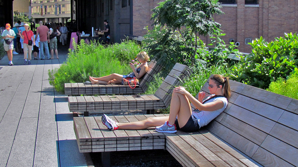 James Corner High Line Landscape Architecture NYC
