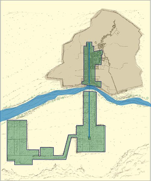 Isfahan landscape garden urbanism plan