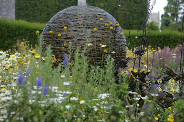 Stone Water Feature, Cawdor Castle Garden