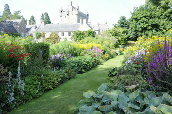 Herbaceous Borders, Cawdor Castle