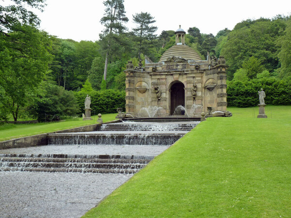 Chatsworth Waterfall