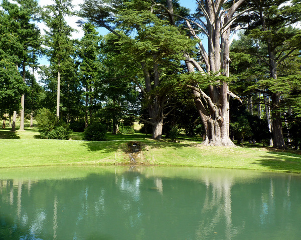 Lake, Stanway Baroque Water Gardens