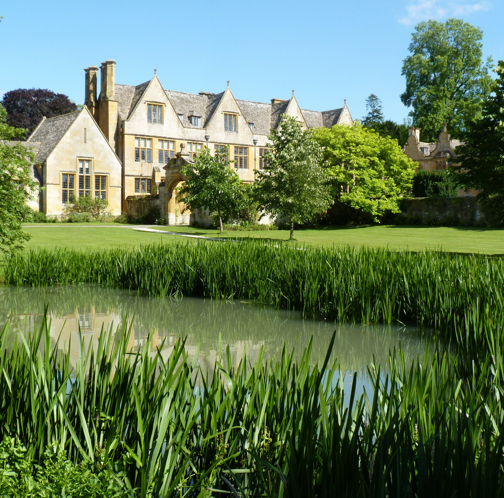 House, Stanway Baroque Water Gardens