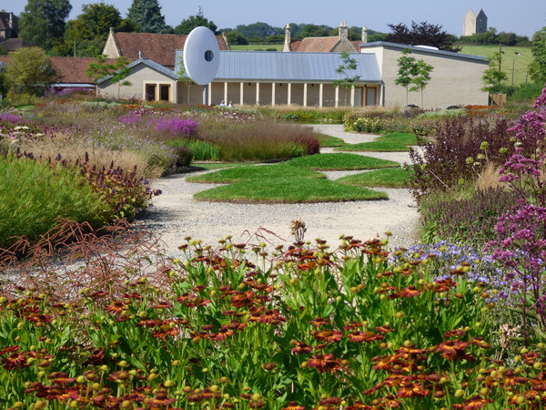 Hauser and Wirth Garden in Somerset