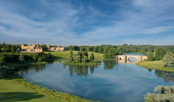 View, Blenheim Palace