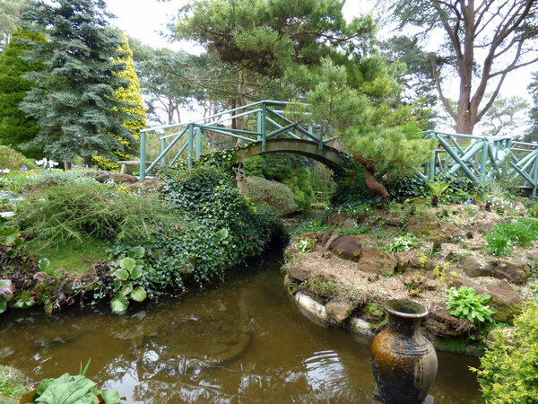 Bridge, Compton Acres Garden