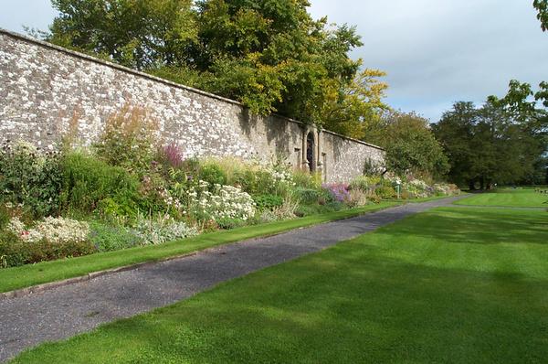 Border, Loughcrew Gardens