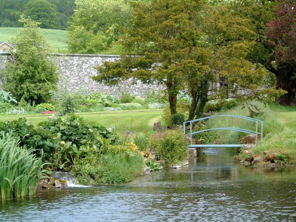Pond, Loughcrew Gardens