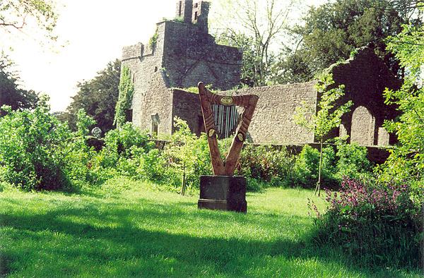 Harp, Loughcrew Gardens
