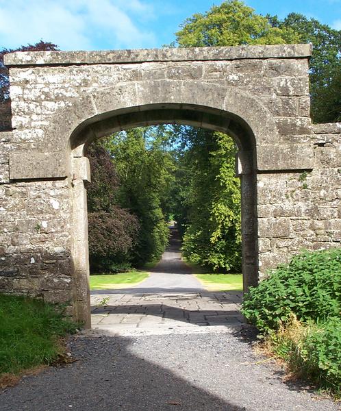 Arch, Loughcrew Gardens