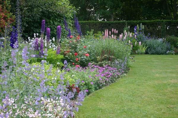 Herbaceous Border, Gotha Garden