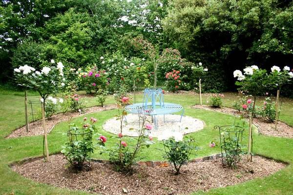 Rose Garden, Gotha Garden at Pembroke Farm
